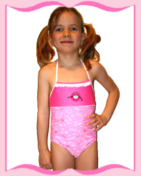 Very Young Little Girls Bathing Suit